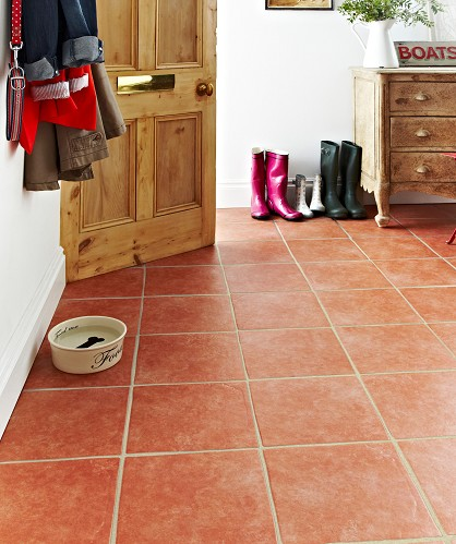 kitchen terracotta floor terracotta cube tiling llp 3237